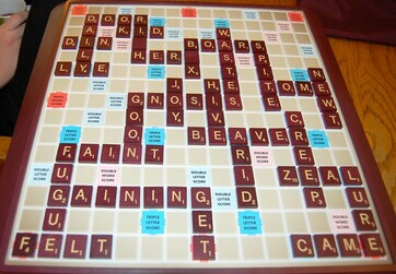 """New Game :) What does a Scrabble game you played in tell about yourself?"" by garlandcannon is licensed under CC BY-SA 2.0"